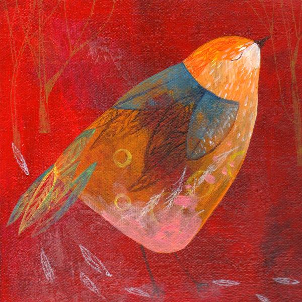 bird red