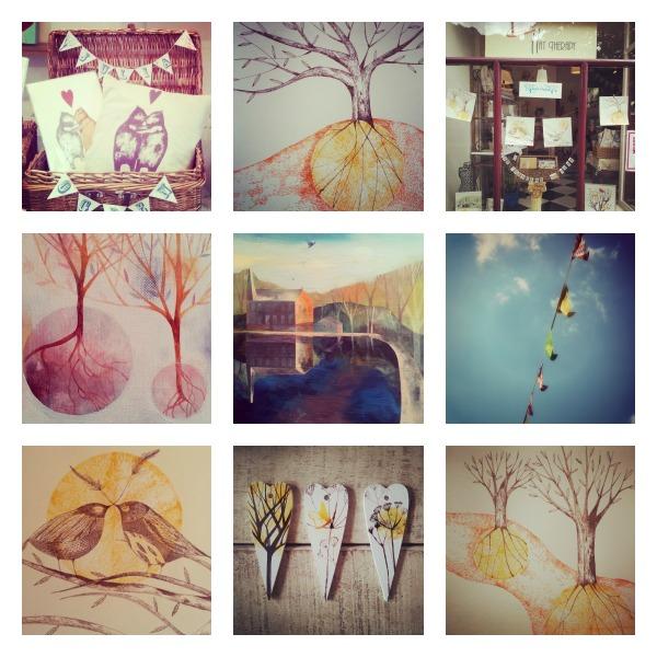 Open studio collage