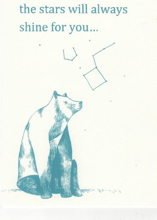 bear screen print