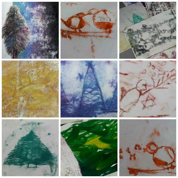 Monoprint and drypoint workshop