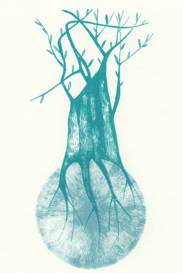 screenprint tree