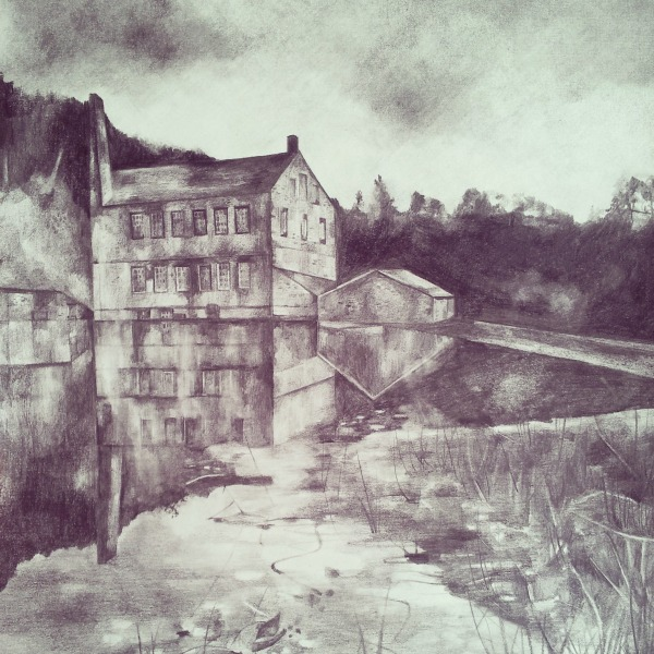 gibson mill in pencil