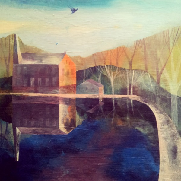 gibson mill painting