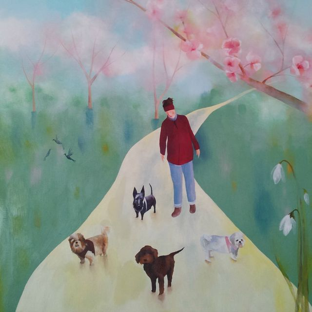 julie painting