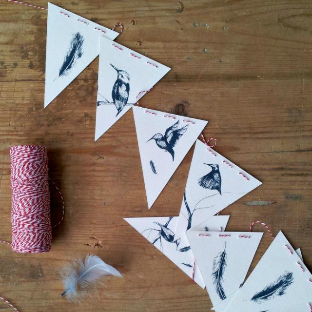bird bunting blog