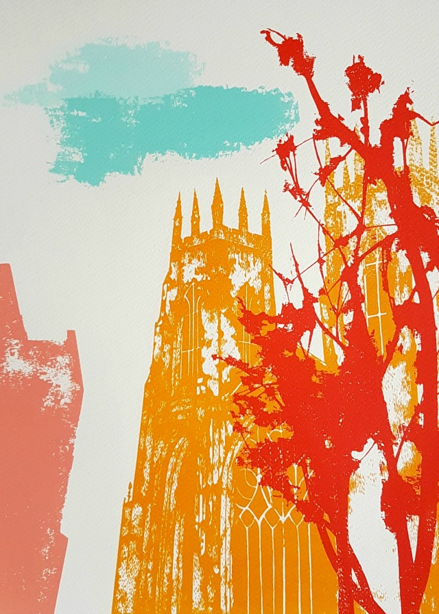 york minster blog screenprint